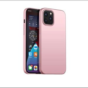 NEW iPhone 12 Pro Max Matte Hard Cover Case